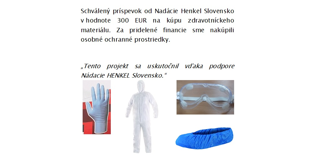 Od Nadácie HENKEL Slovensko